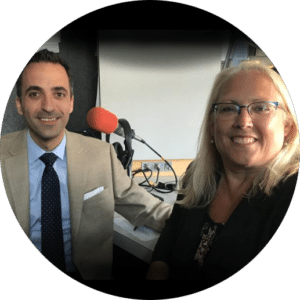 Laurie Siebert and her guest, Attorney Dennis Pappas Allentown Elder Law Attorney