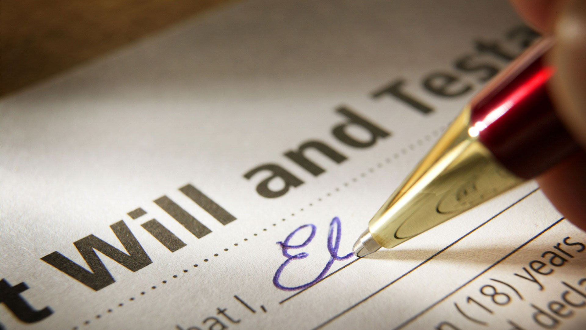 What You Can't Do with a Will
